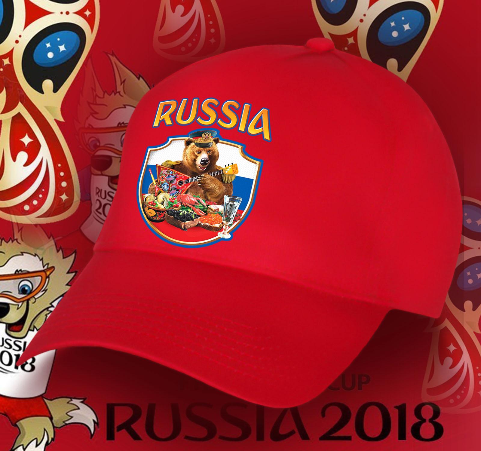 Самая русская бейсболка «Медведь с балалайкой»