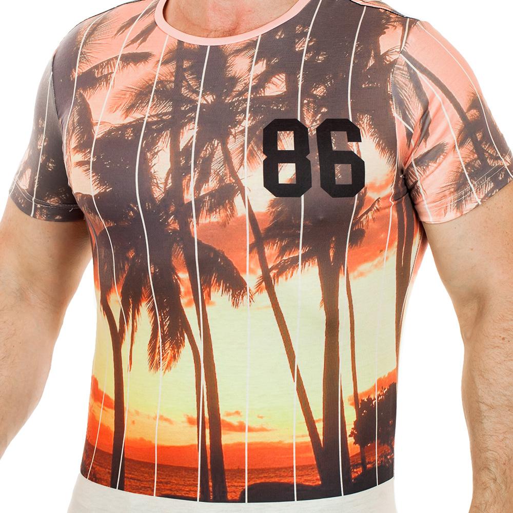Счастливая мужская футболка Max Young Man. Цифра «86» - на твою удачу