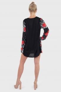 Оу, Крошка, полегче! Хулиганско-сексуальное платье туника Marie Claire.