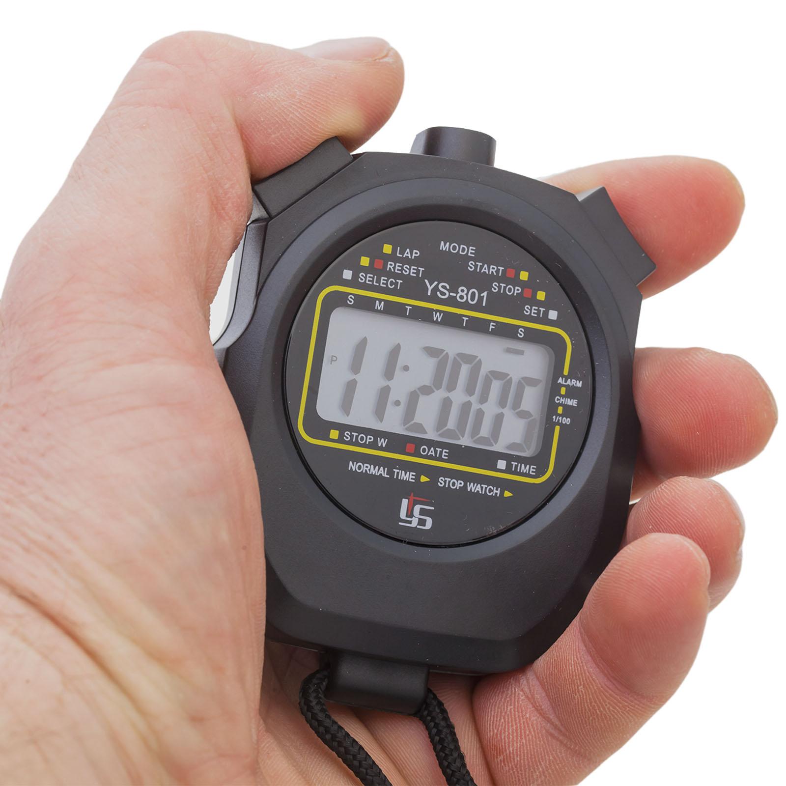 Недорогой цифровой секундомер YS-801 с функцией таймера