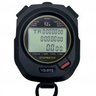 Электронный секундомер YS 810 с дисплеем на 3 строки