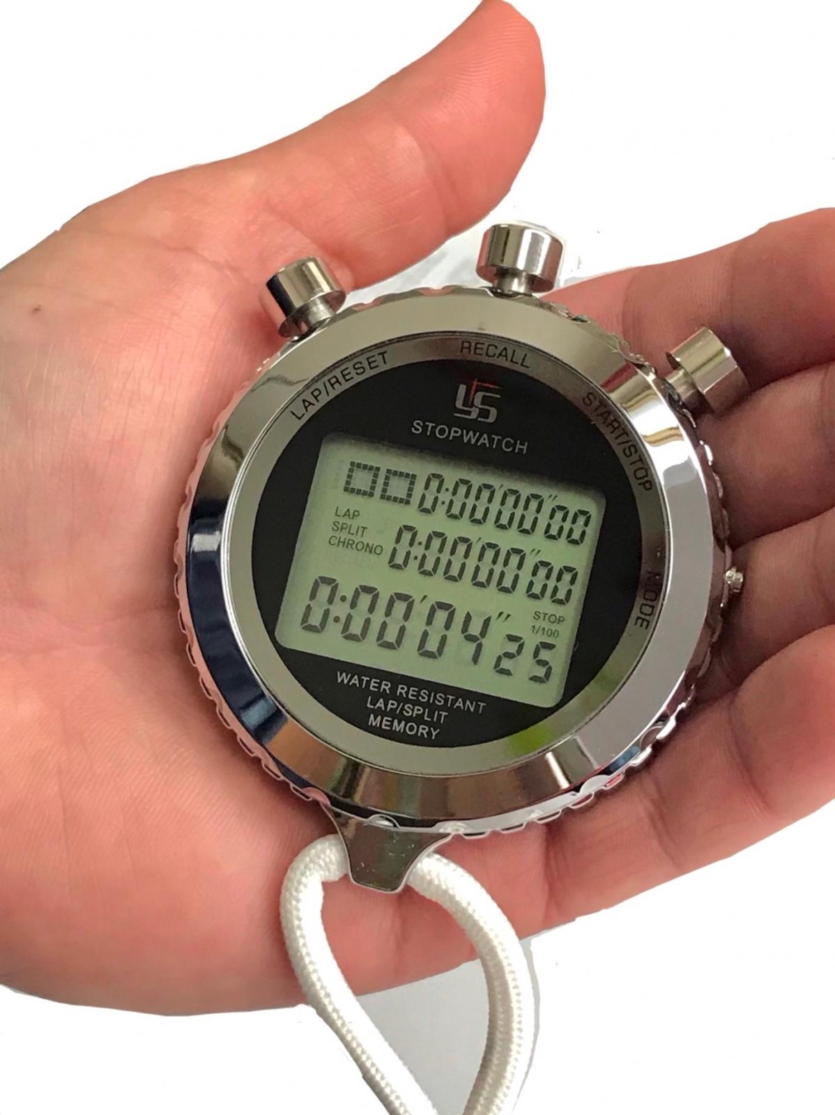 Влагозащищенный цифровой секундомер YS Silent.