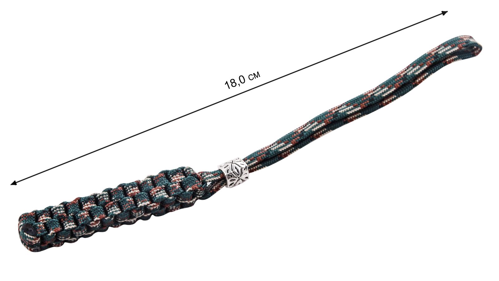 Темляки квадратного плетения из качественного паракорда