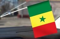 Сенегальский флажок в машину
