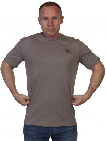 Серая мужская футболка Outdoor life. - купить с доставкой