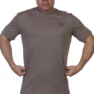 Серая мужская футболка Outdoor life. - купить в розницу
