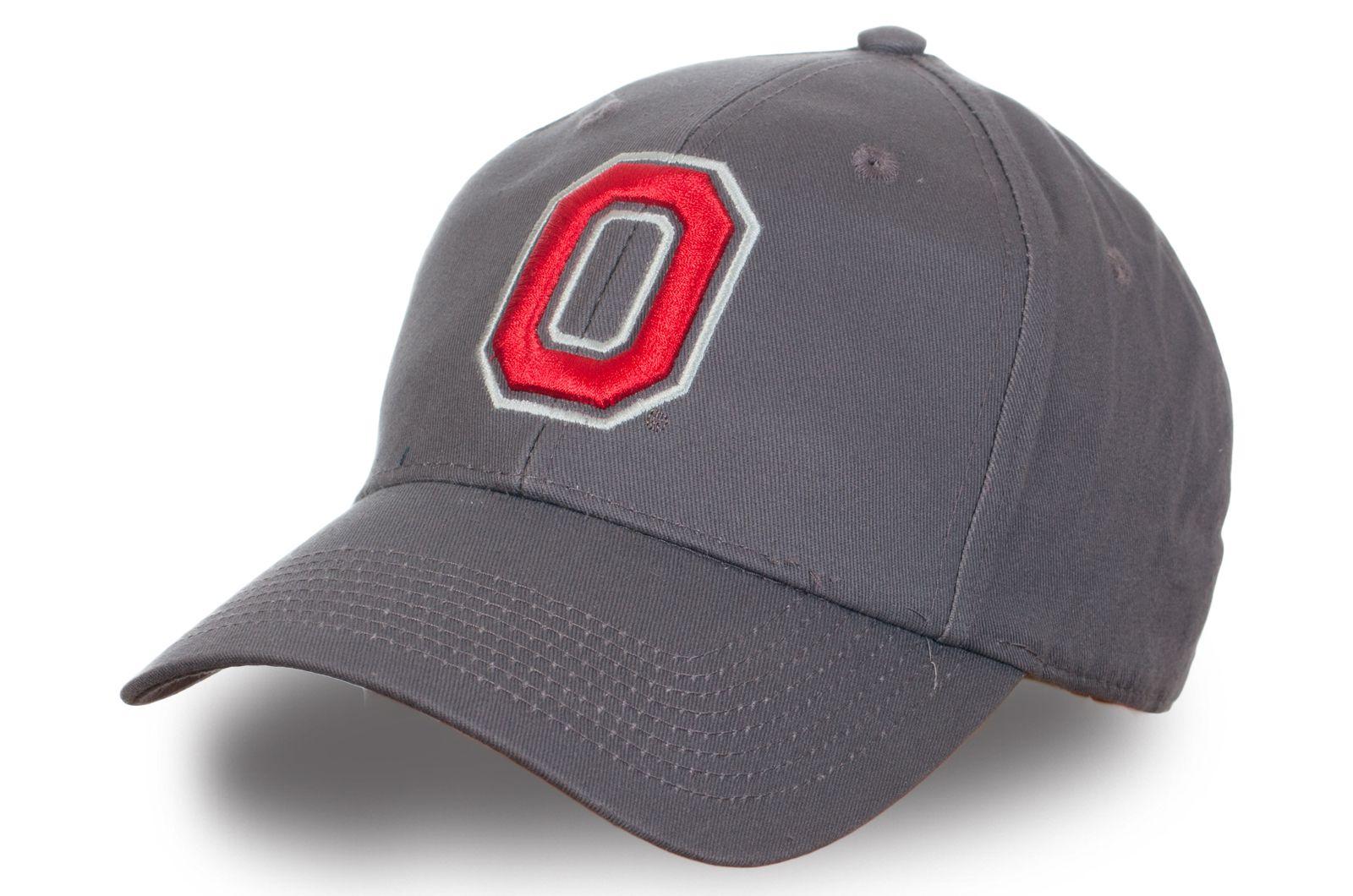 Серая бейсболка Ohio State - купить недорого с доставкой