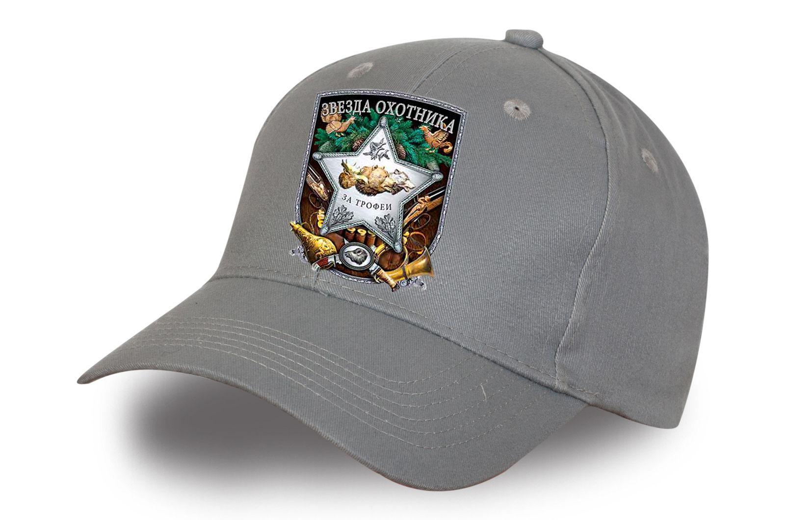 Серая бейсболка охотника - купить по лучшей цене