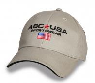 Серая брендовая кепка ABC Sportswear