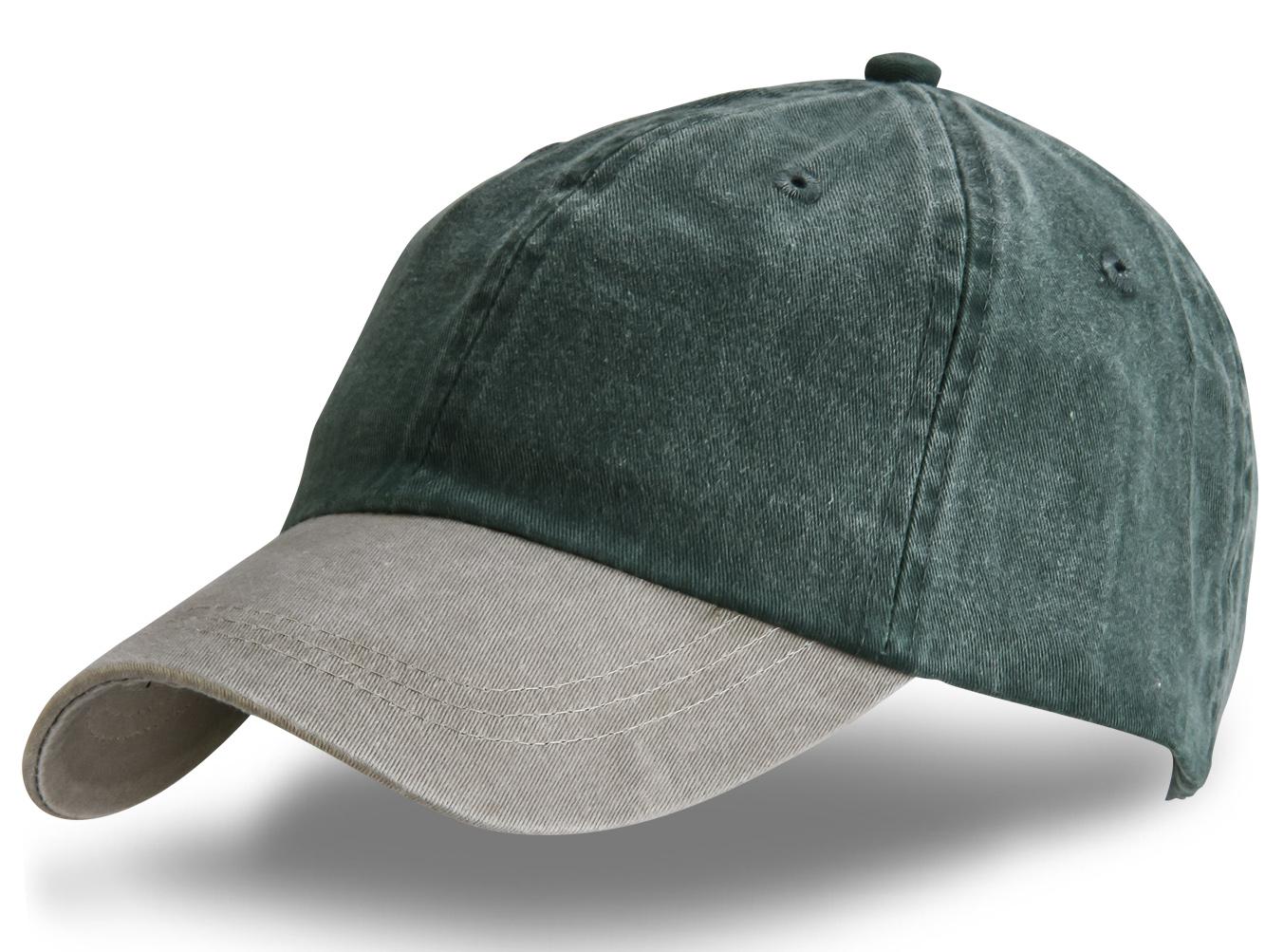 Серая джинсовая кепка - купить в интернет-магазине с доставкой