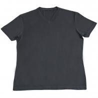 Серая хлопковая футболка. Универсальная вещь для спорта, отдыха и на каждый день