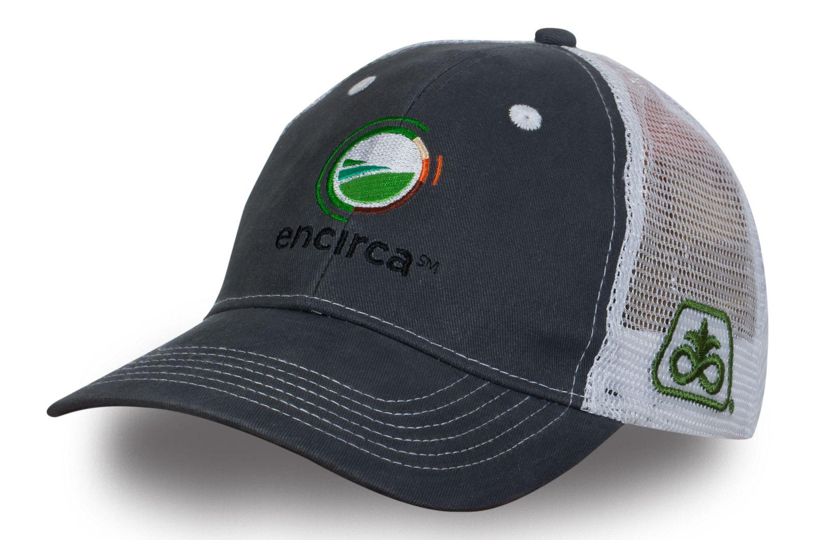 Серая кепка с сеткой - купить в интернет-магазине с доставкой