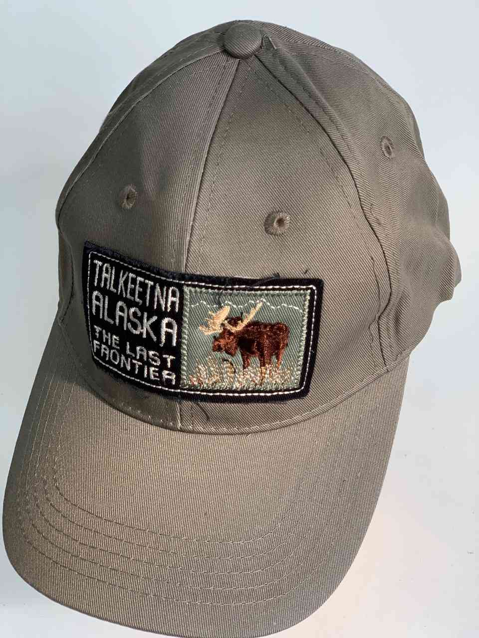 Серая кепка TALKEETNA ALASKA