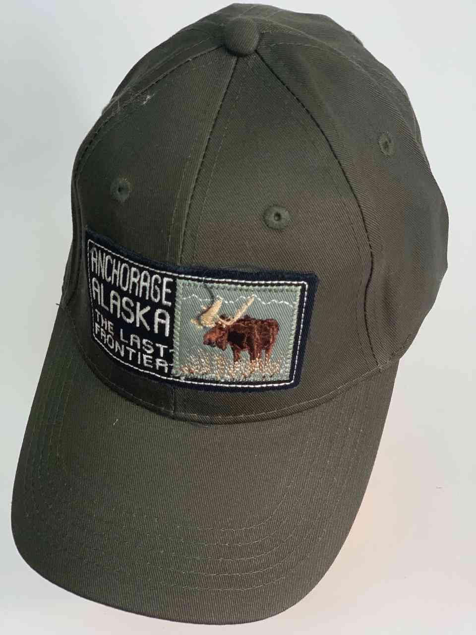 Серая мужская кепка ANCHORAGE Alaska