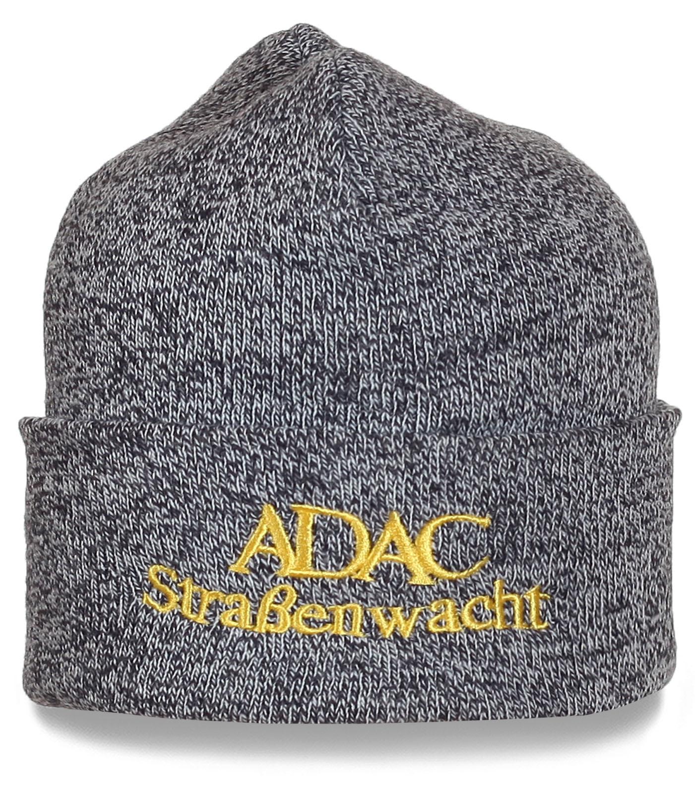 Серая шапка Adac Strabenwacht