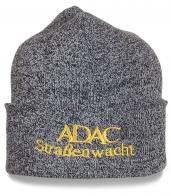 Серая мужская шапка Adac Strabenwacht