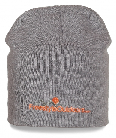 Серая  шапка Freestyle Outdoor