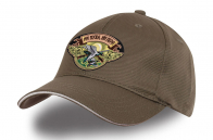 Серая охотничья кепка