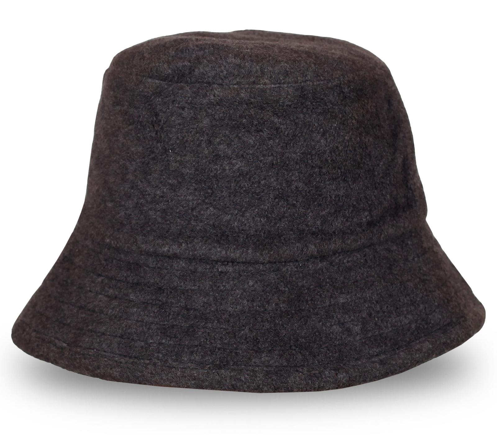 Серая шляпа отличного качества
