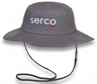 Серая шляпа SERCO