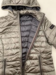 Серебристая женская куртка от BREKKA