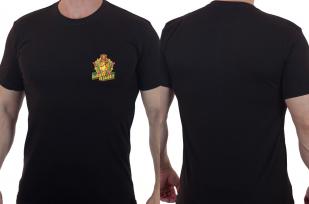 Серьезная мужская футболка «Бывших пограничников не бывает».