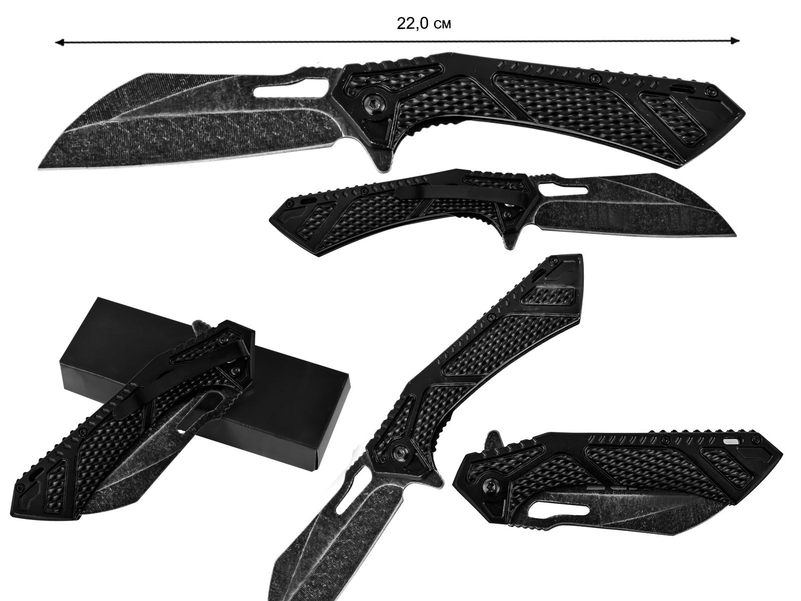 Серьезный тактический нож с клинком из стали 3Cr13