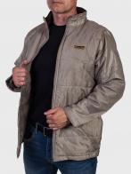 Серо-бежевая куртка Christian Mode