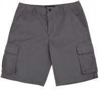 Серые мужские шорты WeatherRoof из хлопка