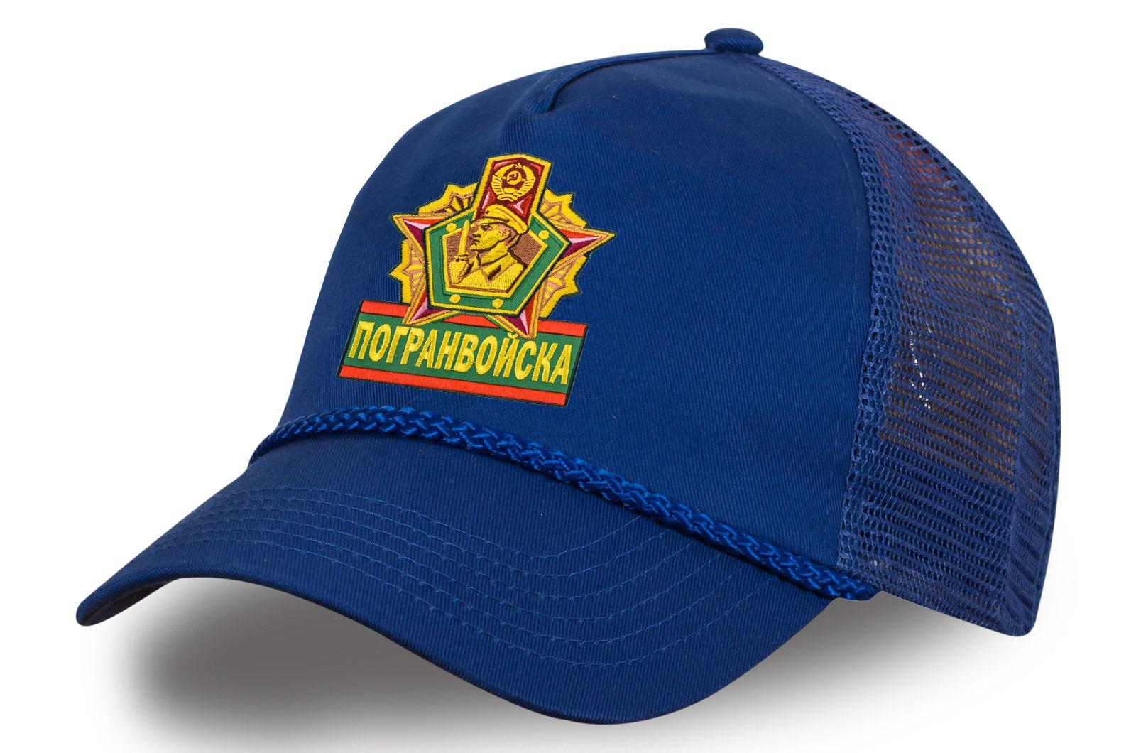 Сетчатая кепка Погранвойска.