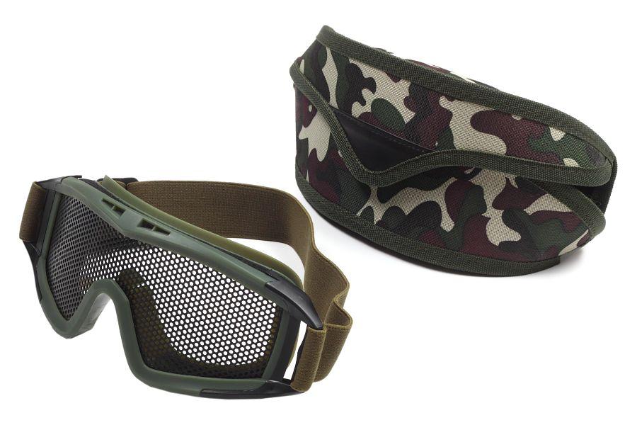 Подарки военным – тактические очки в футляре