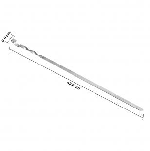Шампуры для барбекю 430 мм (6 шт)