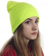 Шапка - огонь! Лимонный цвет, супер-модный дизайн - заказывай и выделяйся!