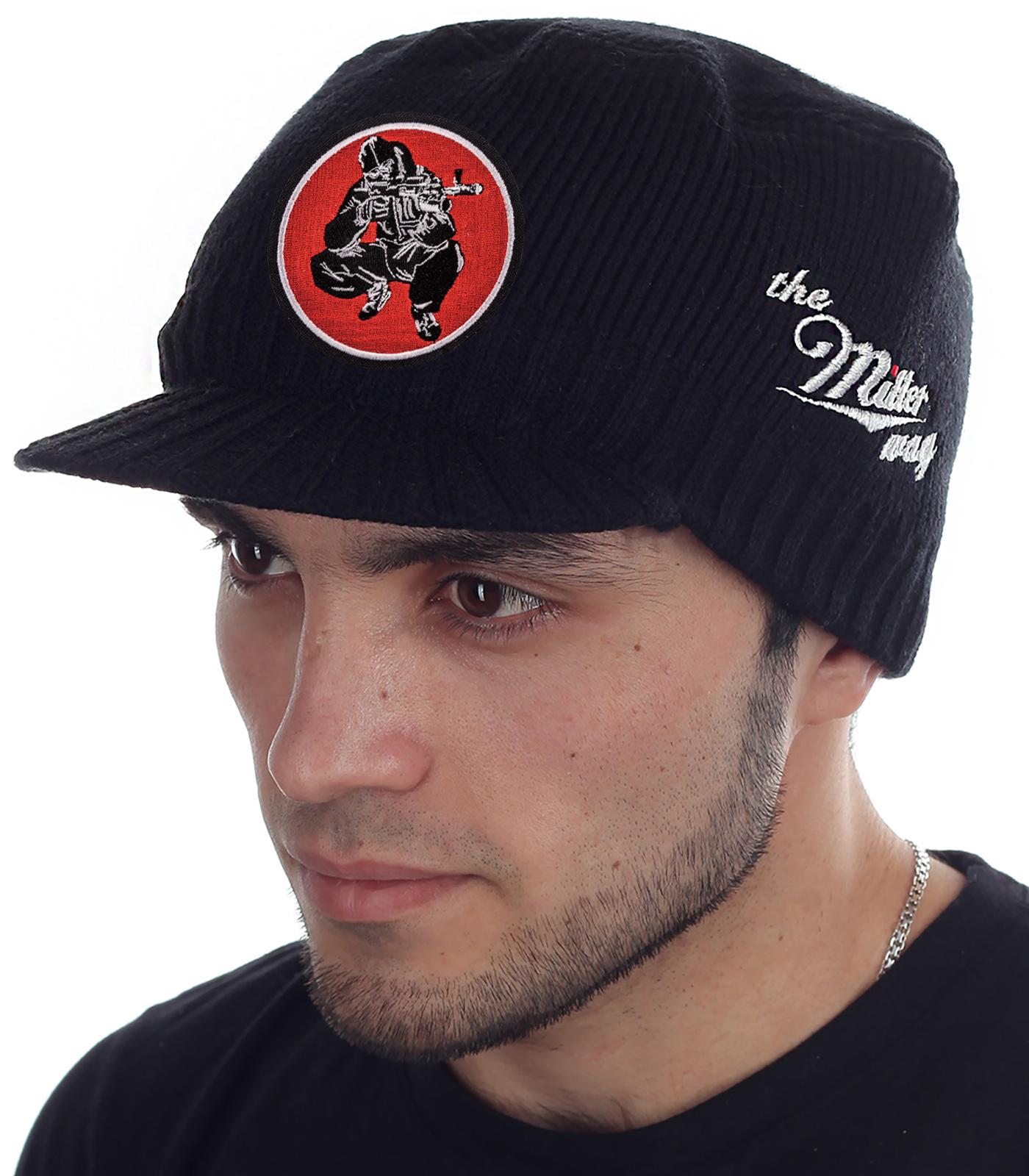 СТОП, СТРАЙКБОЛИСТ! Специально для тебя эксклюзивная мужская шапка-кепка от бренда Miller Way. На игровой площадке удобно, в городе уместно. Заказывай и выделяйся!