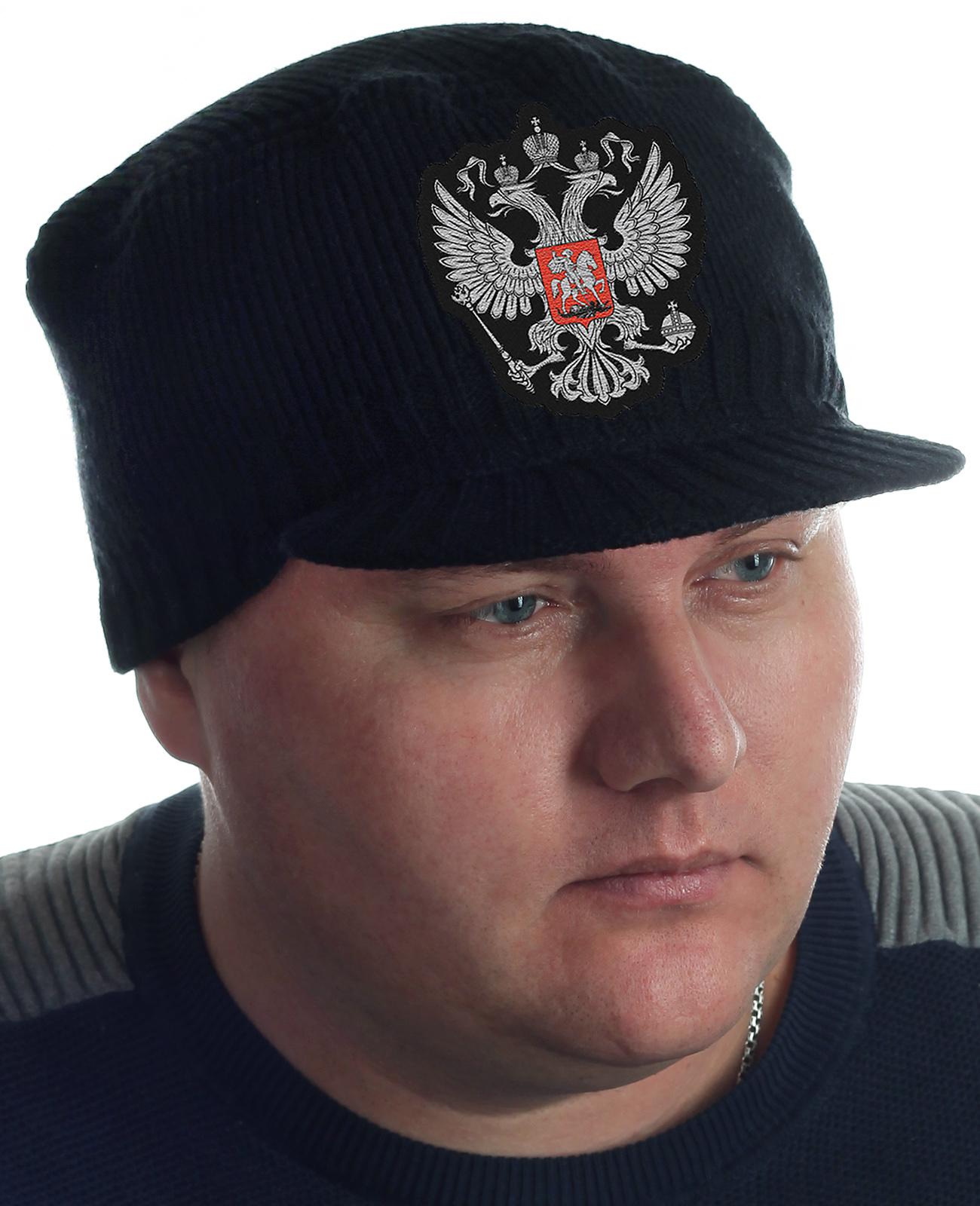 Купить черную мужскую кепку Miller Way по приятной цене