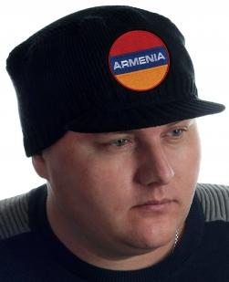 Стильная шапка Miller Way для мужчин. Фасон – классика, сезон – осень-зима, декор – нашивка Армянский флаг. Ниже цены на брендовое качество НЕ БЫВАЕТ!