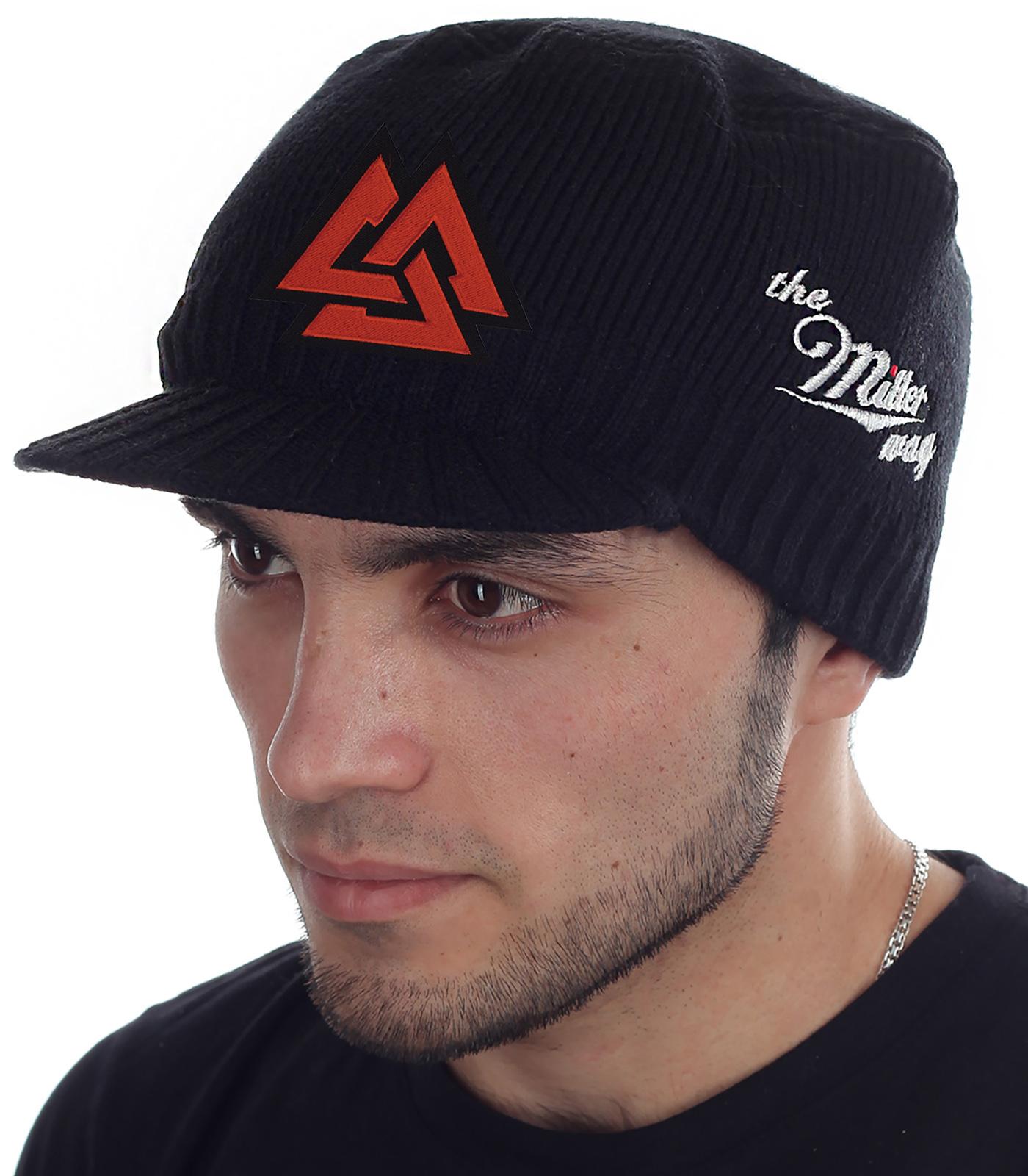 Сколько стоит вязаная шапка-кепка? У нас очень дешево