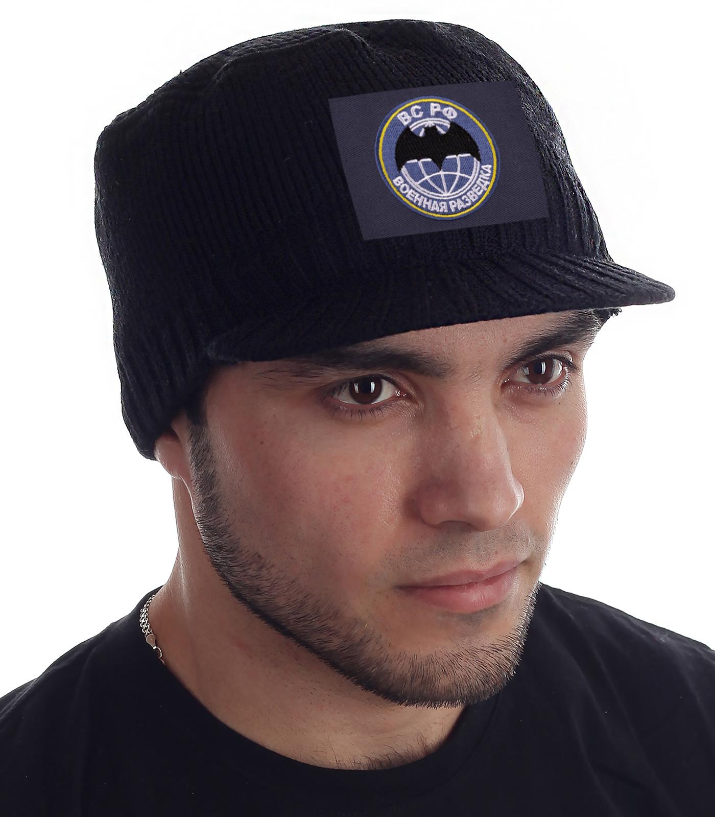 Мужские шапки «Военная разведка» по супер цене