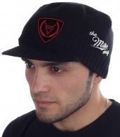 Супер цена! Мужская шапка Miller Way с вышитым амулетом-оберегом «Велес». Спортивно-элегантный фасон для любителей неформального стиля. Носи удобные вещи!