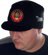 Удобная мужская шапка с государственным гербом СССР