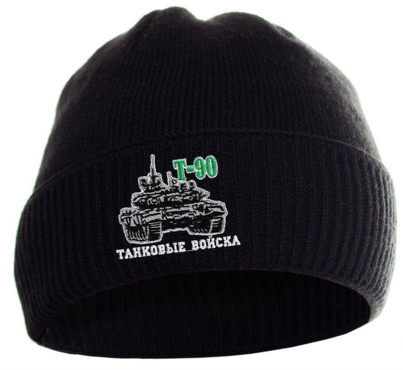 Купить шапку с танком