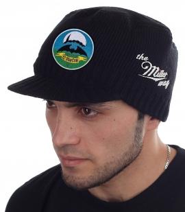"""Шапка в форме кепки """"12 ОБрСпН"""" от Miller Way, удобная и теплая"""