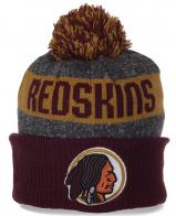 Шапочка фаната клуба Washington Redskins на флисе