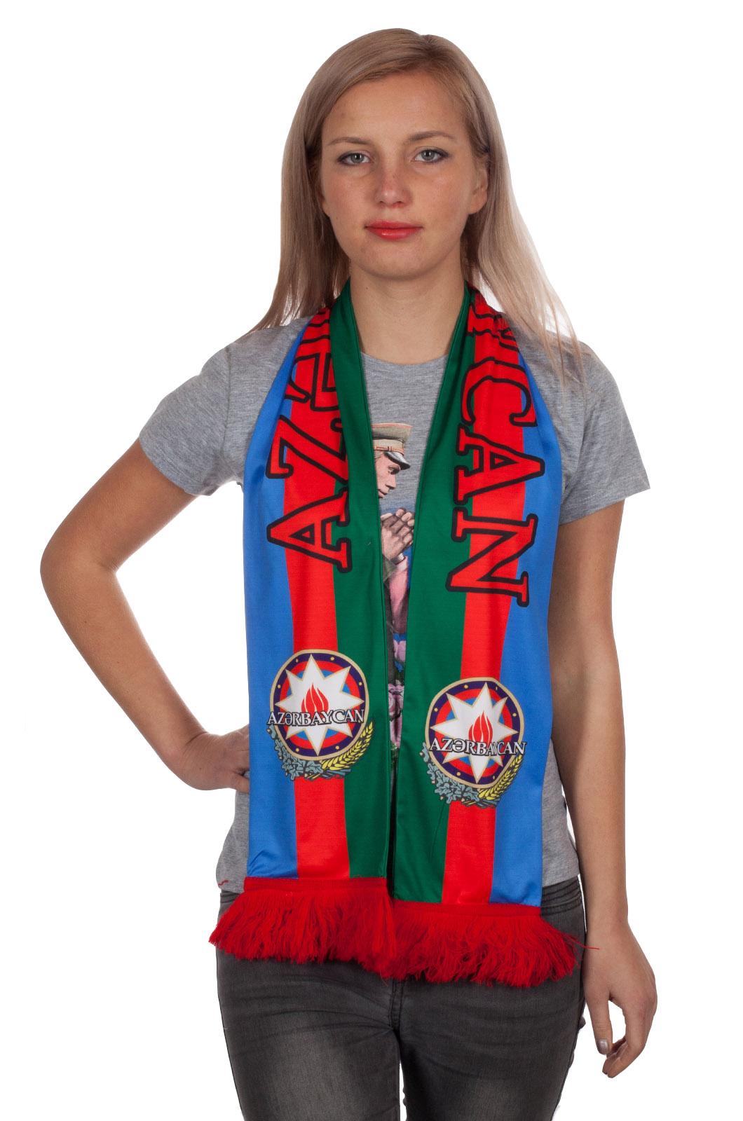 """Купить шелковый шарф """"Азербайджан"""" с доставкой"""