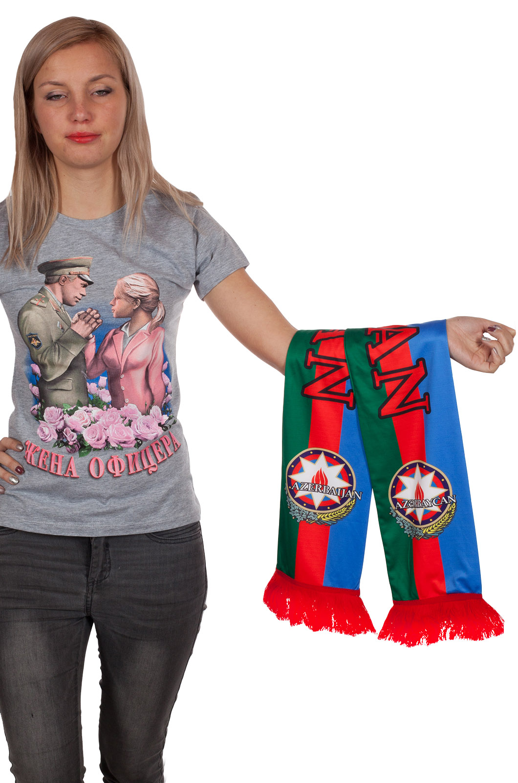 "Шарф ""Азербайджан"" с доставкой"
