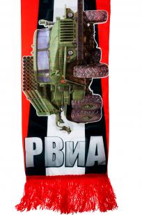 Шарф шёлковый «РВиА» авторского дизайна
