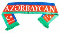 Шарф вязаный «Азербайджан»
