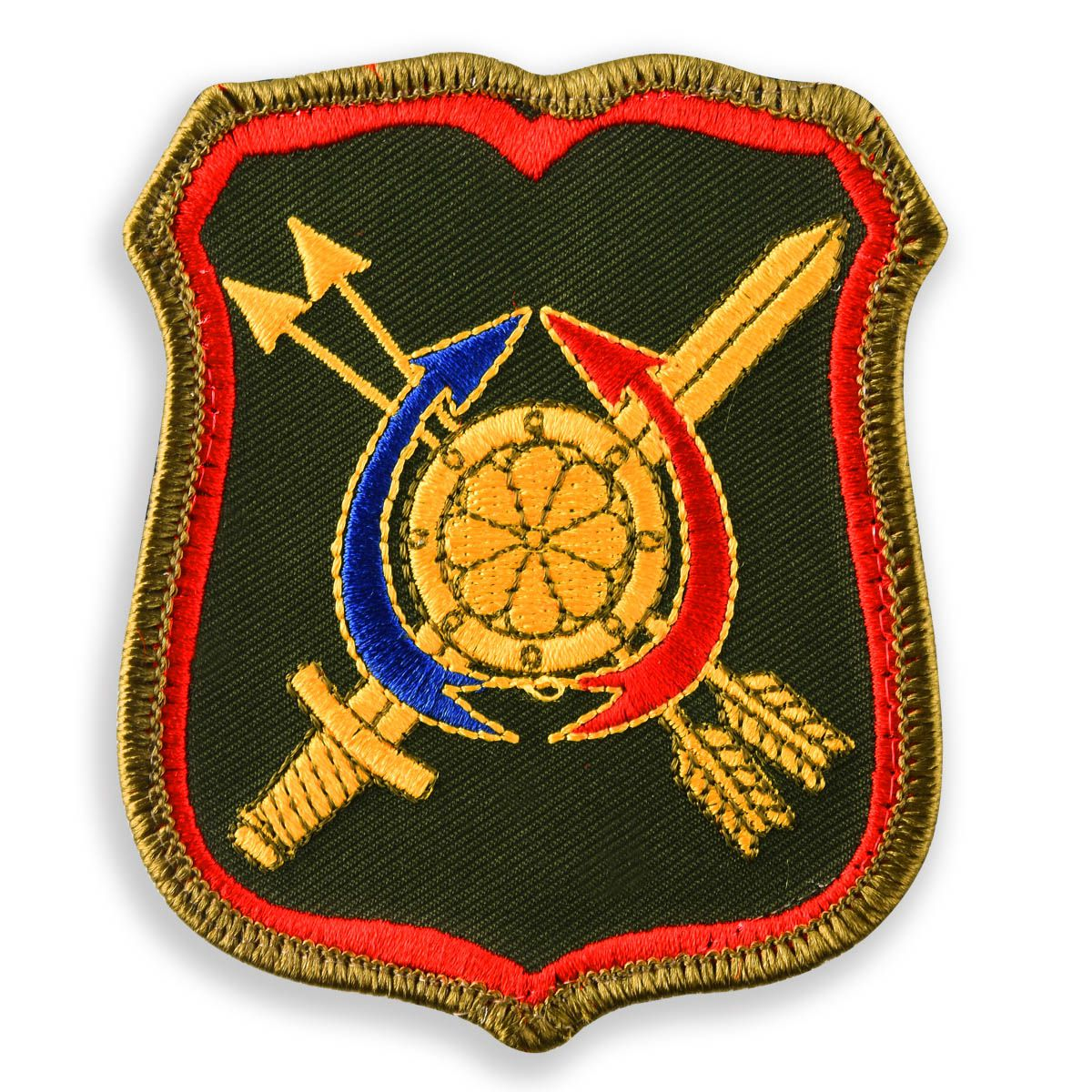 Шеврон 1231-го Центра боевого управления РВСН