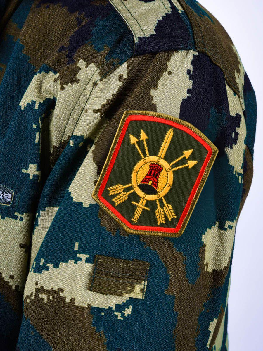 Шеврон 33-й ракетной дивизии РВСН