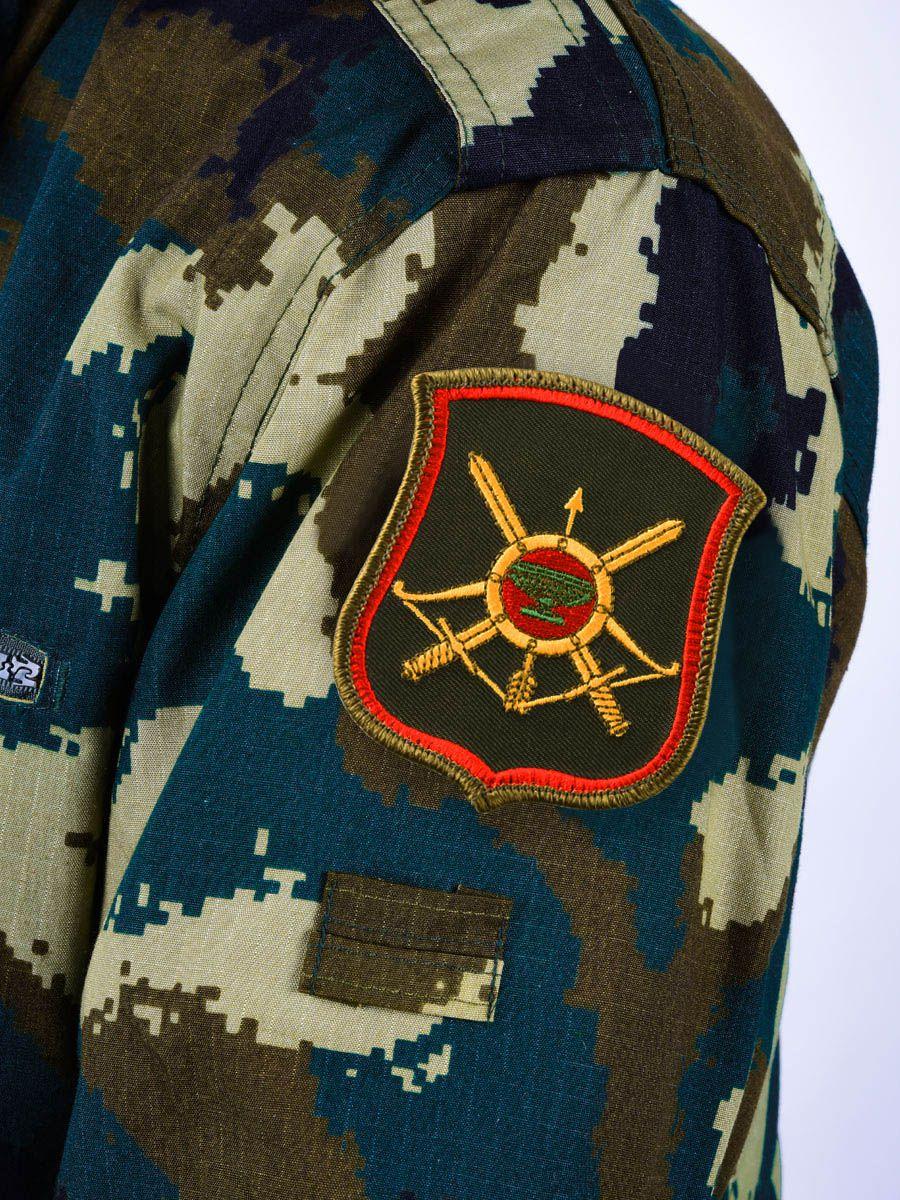 Шеврон 35-ой ракетной дивизии РВСН